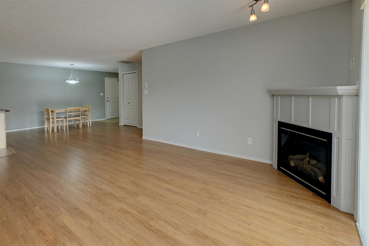 Notice the newer quality laminate flooring that adorns the entire apartment except the kitchen, baths & entry.