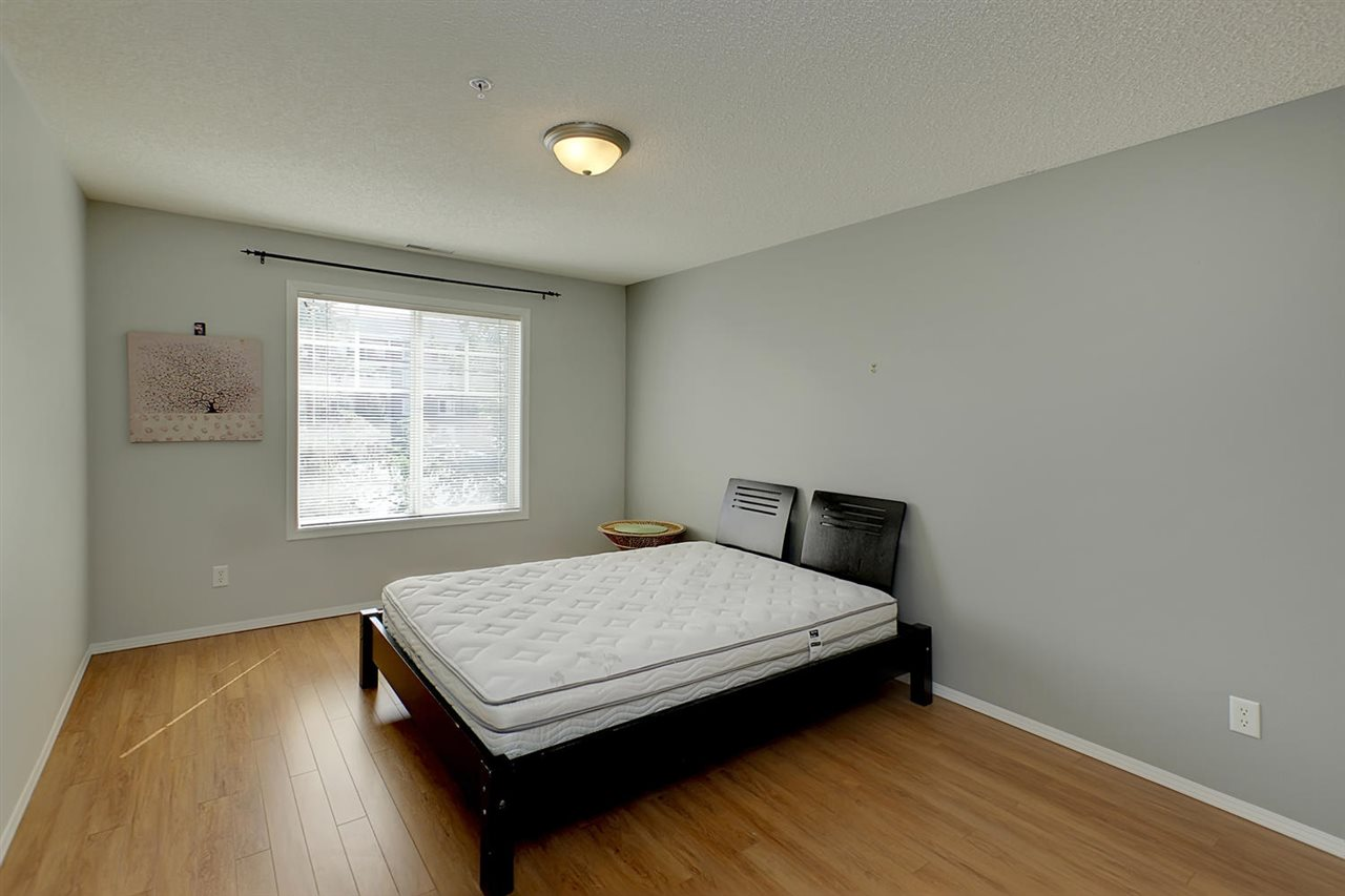 The master bedroom is large enough to accommodate your king size bed and all your bedroom furniture.