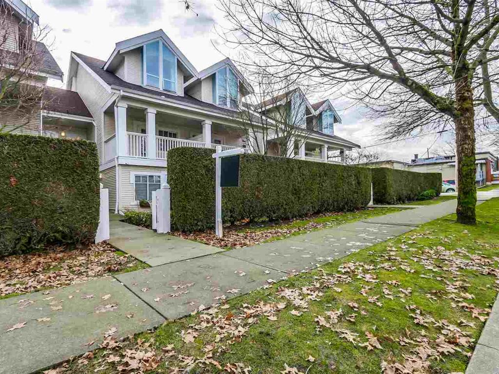 Main Photo: 2428 E 8th Ave. in Vancouver: Renfrew VE Townhouse for sale (Vancouver East)  : MLS® # R2030880