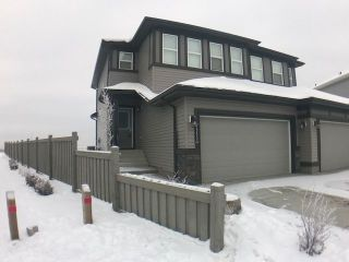 Main Photo: 8553 Cushing Place in Edmonton: Zone 55 House Half Duplex for sale : MLS® # E4088047