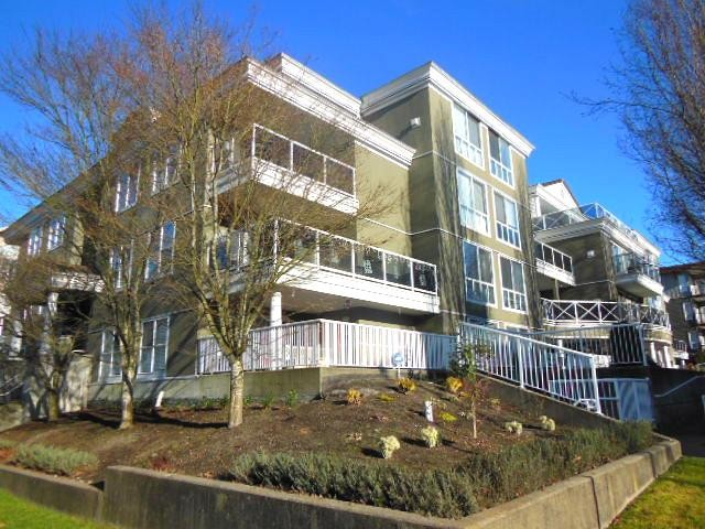 "Main Photo: # 210 2485 ATKINS AV in Port Coquitlam: Central Pt Coquitlam Condo for sale in ""THE ESPLANADE"" : MLS® # V1037424"