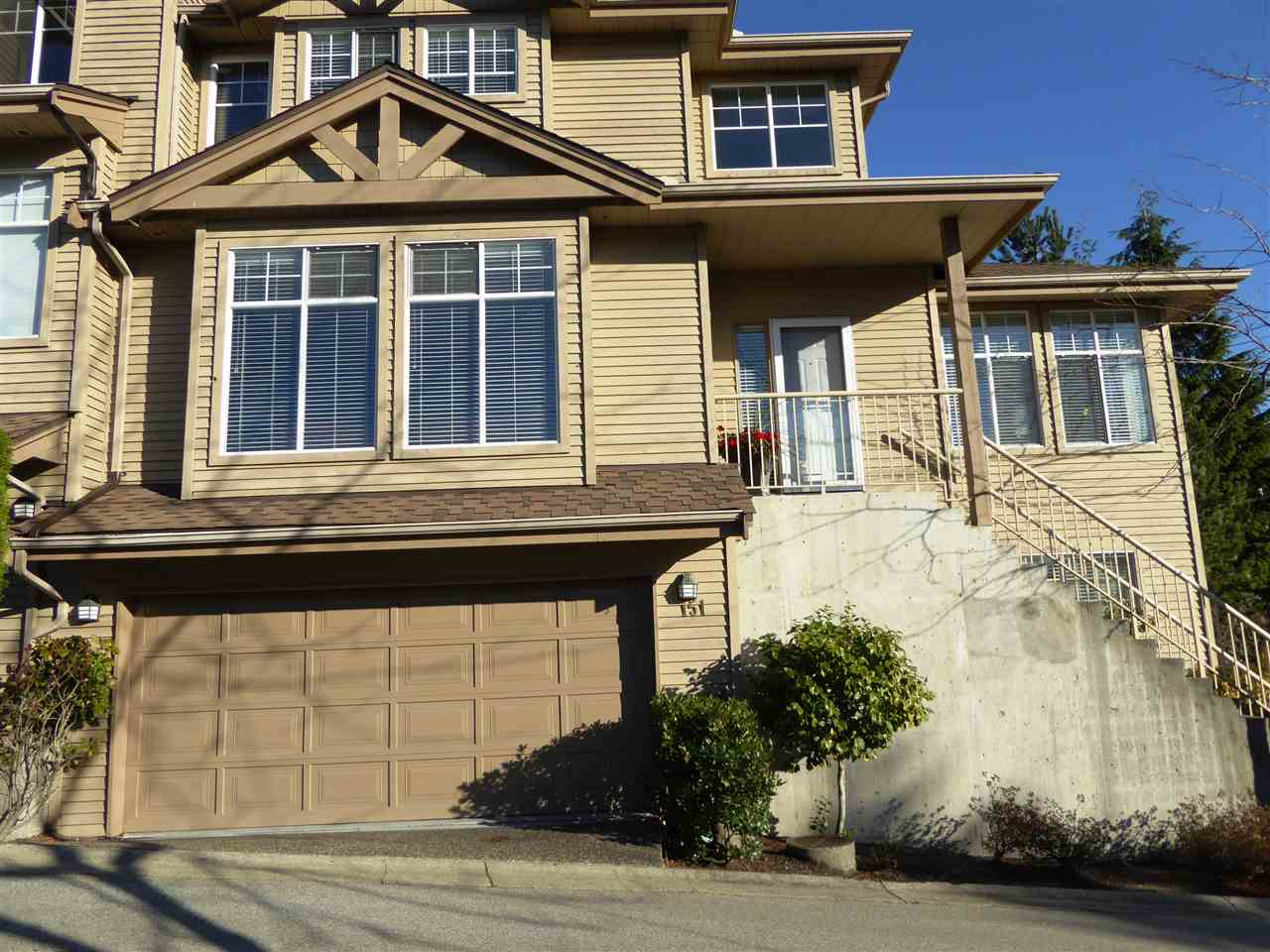 "Main Photo: 151 2979 PANORAMA Drive in Coquitlam: Westwood Plateau Townhouse for sale in ""DEERCREST"" : MLS® # R2017095"