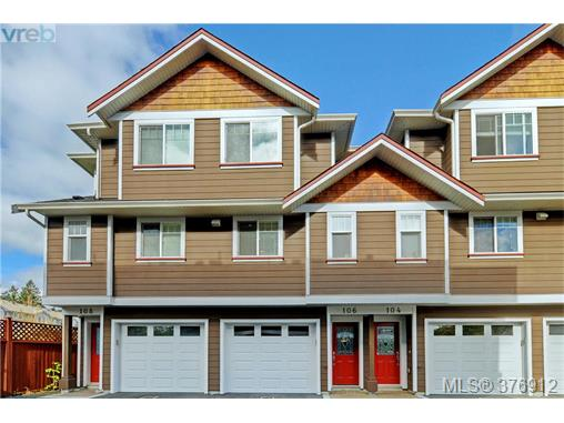 Main Photo: 106 2680 Peatt Road in VICTORIA: La Langford Proper Townhouse for sale (Langford)  : MLS® # 376912