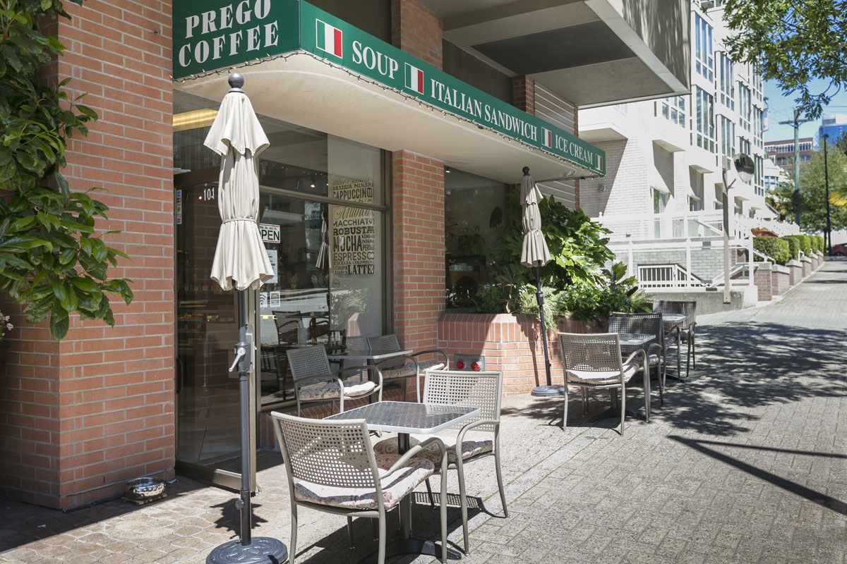 Enjoy Coffee and Fresh Deli Food at Prego, Right Next Door!