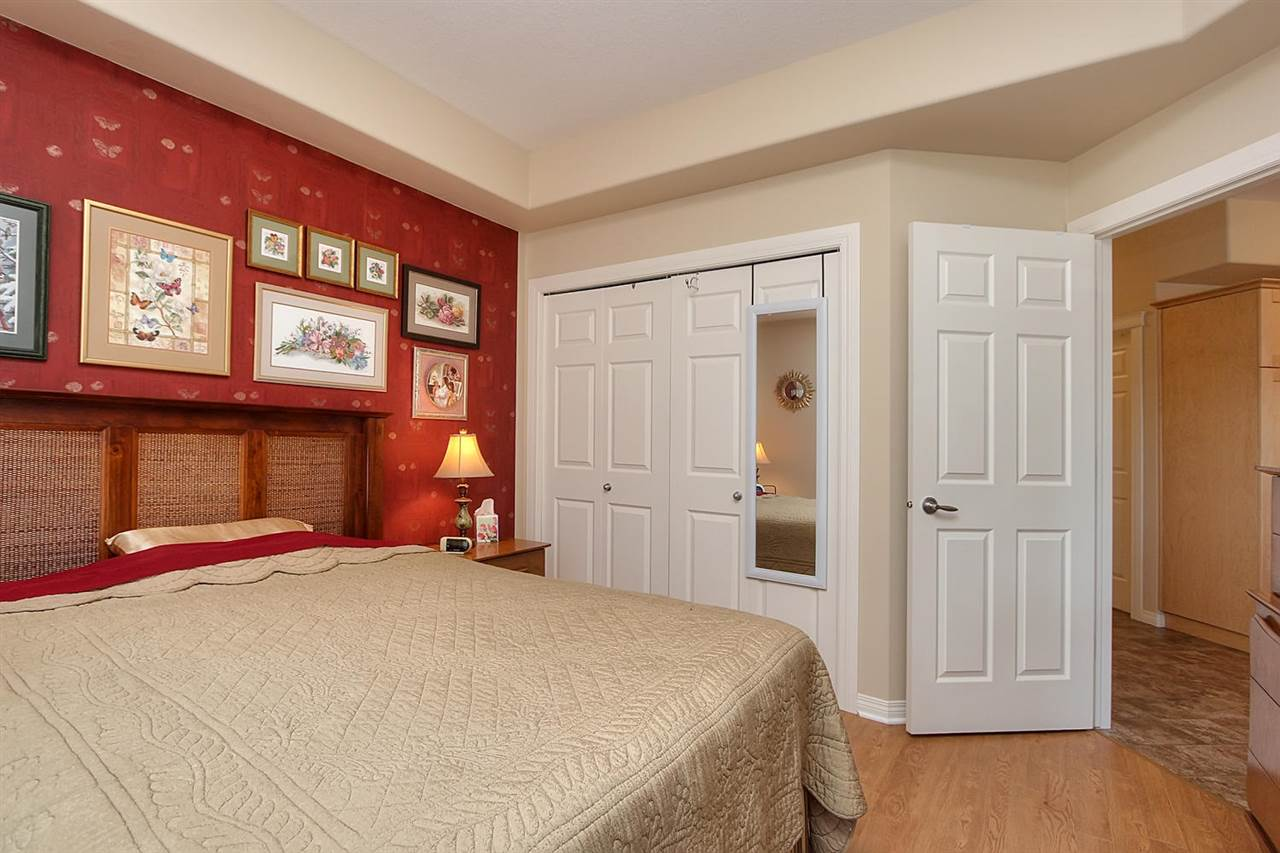 The Master bedroom has a large closet. The main bathroom is right next to the bedroom.