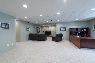 Huge family room in the lower level...
