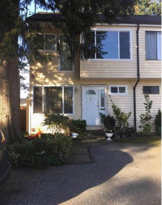 "Main Photo: 6 9340 128 Street in Surrey: Queen Mary Park Surrey Townhouse for sale in ""SURREY MEADOWS"" : MLS® # R2244125"