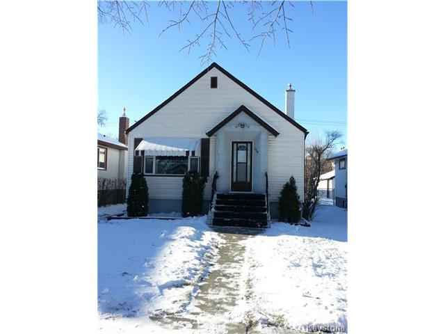 Main Photo: 1310 Downing Street in WINNIPEG: West End / Wolseley Residential for sale (West Winnipeg)  : MLS® # 1325342