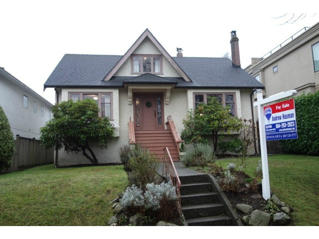 "Main Photo: 3866 W 15TH Avenue in Vancouver: Point Grey House for sale in ""Point Grey"" (Vancouver West)  : MLS® # V1096152"