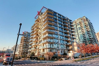 "Main Photo: 1107 172 VICTORY SHIP Way in North Vancouver: Lower Lonsdale Condo for sale in ""THE ATRIUM"" : MLS®# R2127312"
