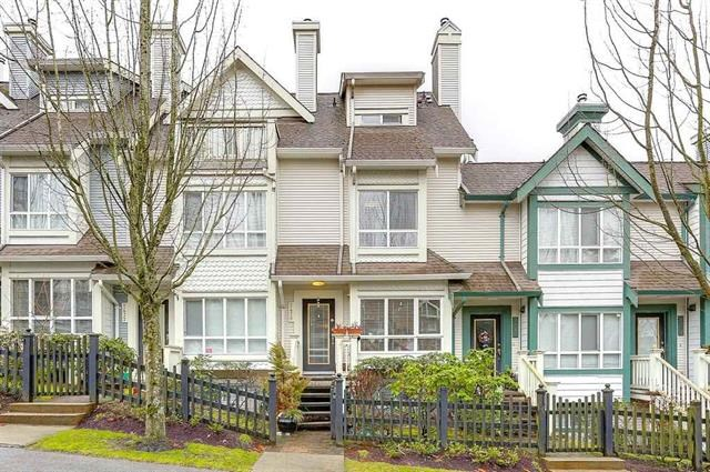 "Main Photo: 7478 HAWTHORNE Terrace in Burnaby: Highgate Townhouse for sale in ""ROCKHILL"" (Burnaby South)  : MLS® # R2148491"