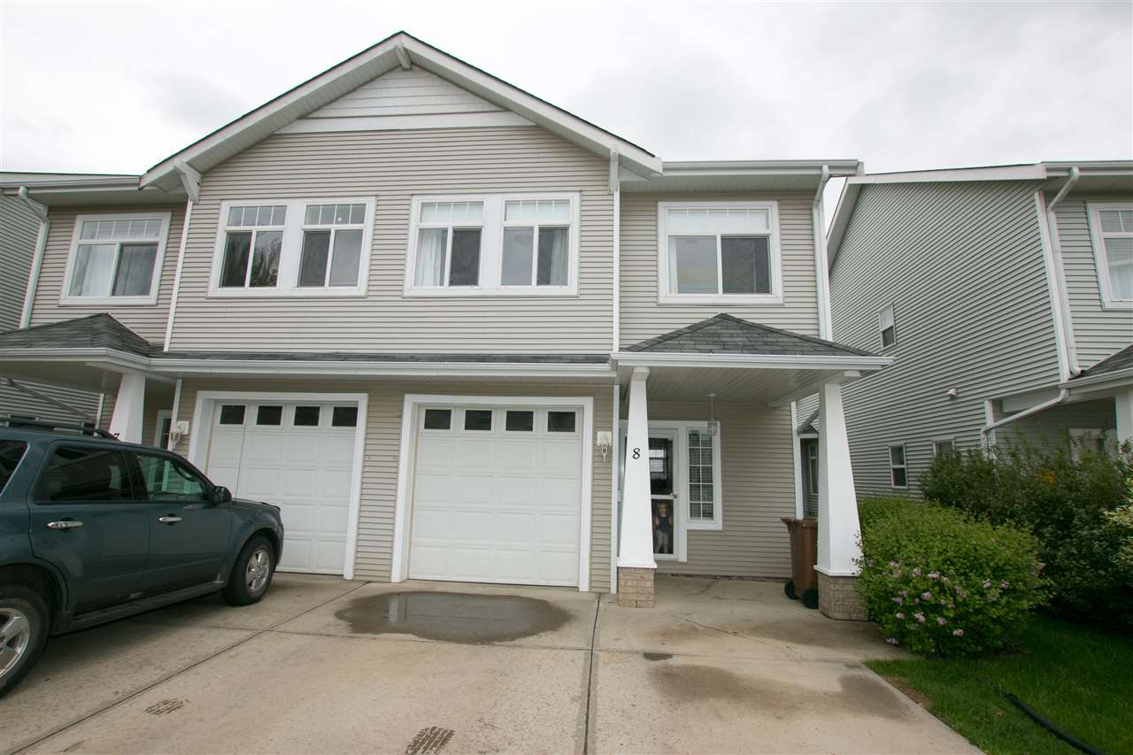 Main Photo: 8 200 ERIN RIDGE Drive: St. Albert Townhouse for sale : MLS(r) # E4068565