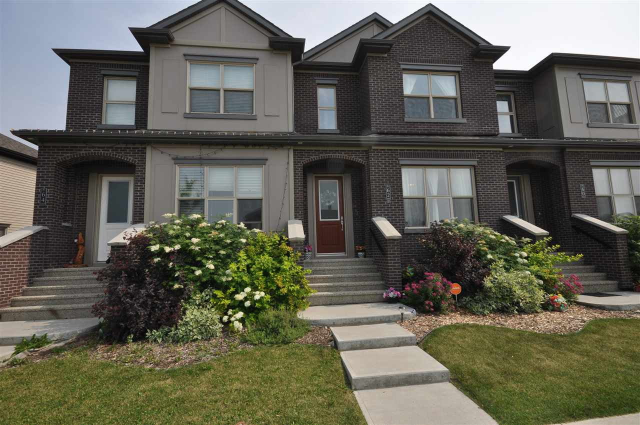 Main Photo: 62 GREENBURY Boulevard: Spruce Grove Attached Home for sale : MLS(r) # E4074814