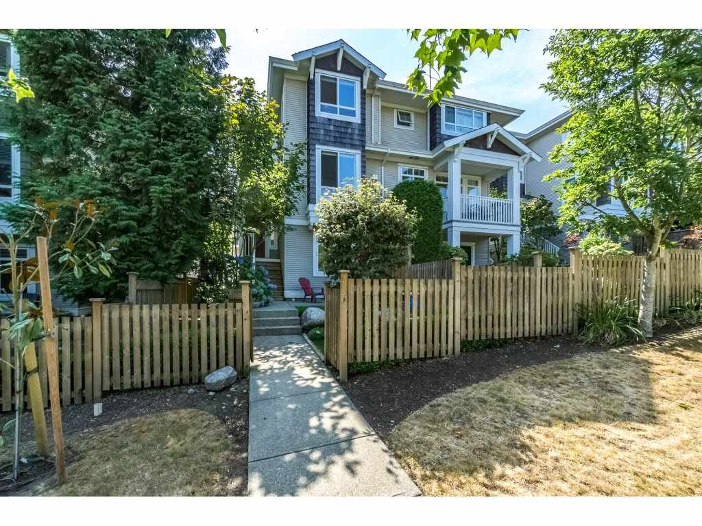 "Main Photo: 6 15030 58 Avenue in Surrey: Sullivan Station Townhouse for sale in ""Summerleaf"" : MLS® # R2197080"