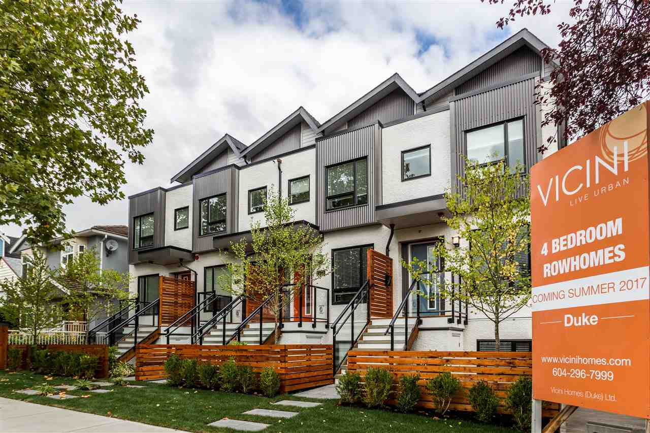 "Main Photo: 2765 DUKE Street in Vancouver: Collingwood VE Townhouse for sale in ""DUKE"" (Vancouver East)  : MLS®# R2207904"