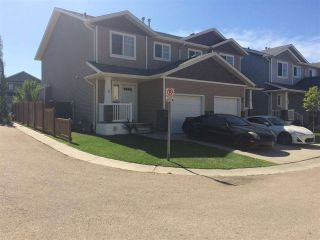 Main Photo: # 5 14208 36 Street in Edmonton: Zone 35 House Half Duplex for sale : MLS® # E4089899