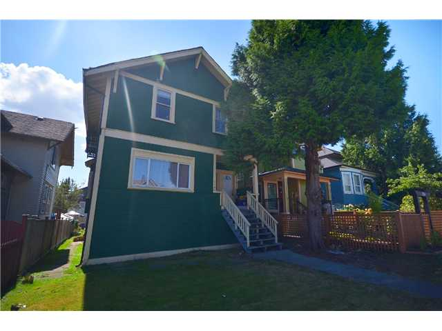 Main Photo: 1132 E 12TH AV in Vancouver: Mount Pleasant VE House for sale (Vancouver East)  : MLS®# V1023872