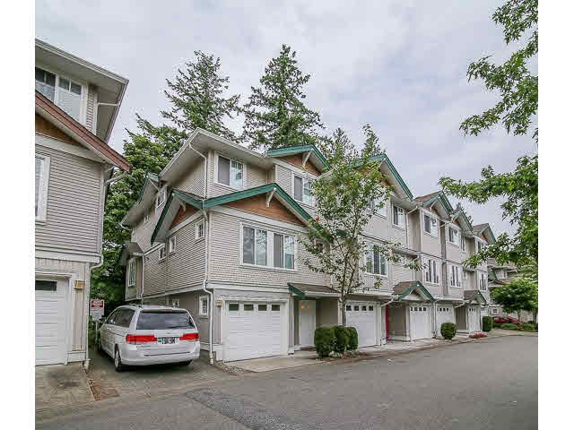 "Main Photo: 48 12711 64 Avenue in Surrey: West Newton Townhouse for sale in ""PALETTE ON THE PARK"" : MLS®# F1451362"