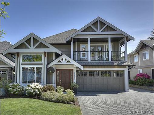 Main Photo: 1170 Deerview Place in VICTORIA: La Bear Mountain Single Family Detached for sale (Langford)  : MLS®# 364374