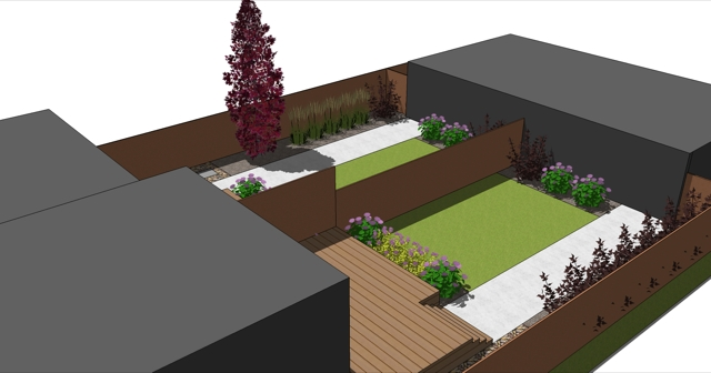 Landscaping included and will be supplied by Salisbury landscaping.