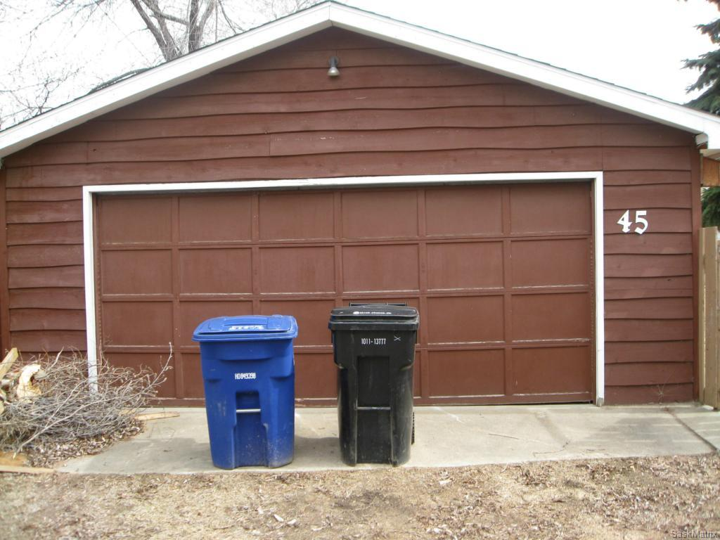Double detached garage is 22 x 24, insulated and boarded, with 220 power.