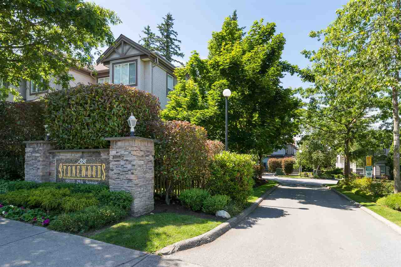 "Main Photo: 12 15133 29A Avenue in Surrey: King George Corridor Townhouse for sale in ""Stonewoods"" (South Surrey White Rock)  : MLS® # R2175927"