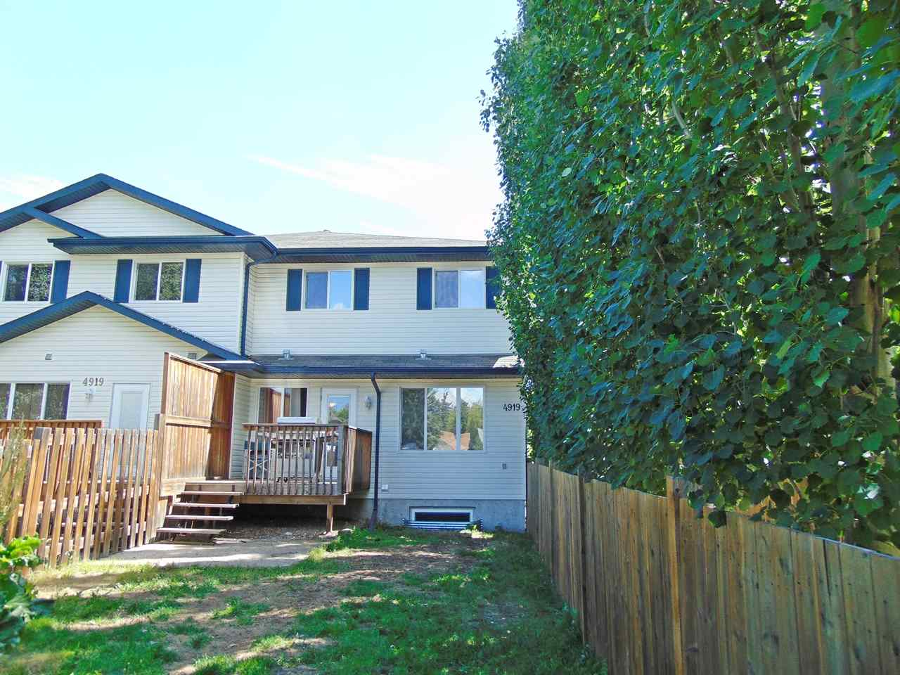 Main Photo: C 4919 50 Street: Gibbons Townhouse for sale : MLS® # E4069475