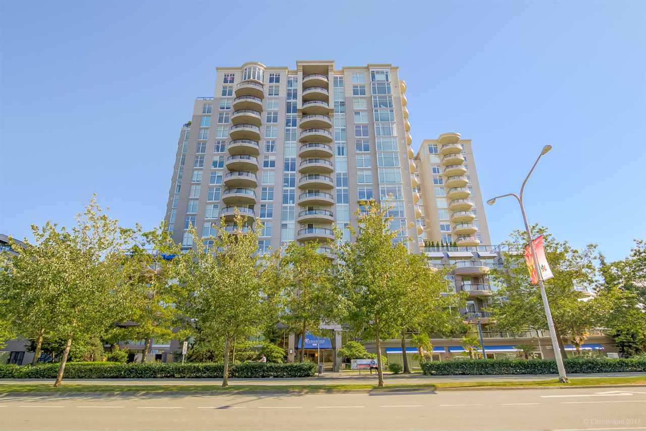 "Main Photo: 805 8460 GRANVILLE Avenue in Richmond: Brighouse South Condo for sale in ""THE PALMS"" : MLS® # R2183275"