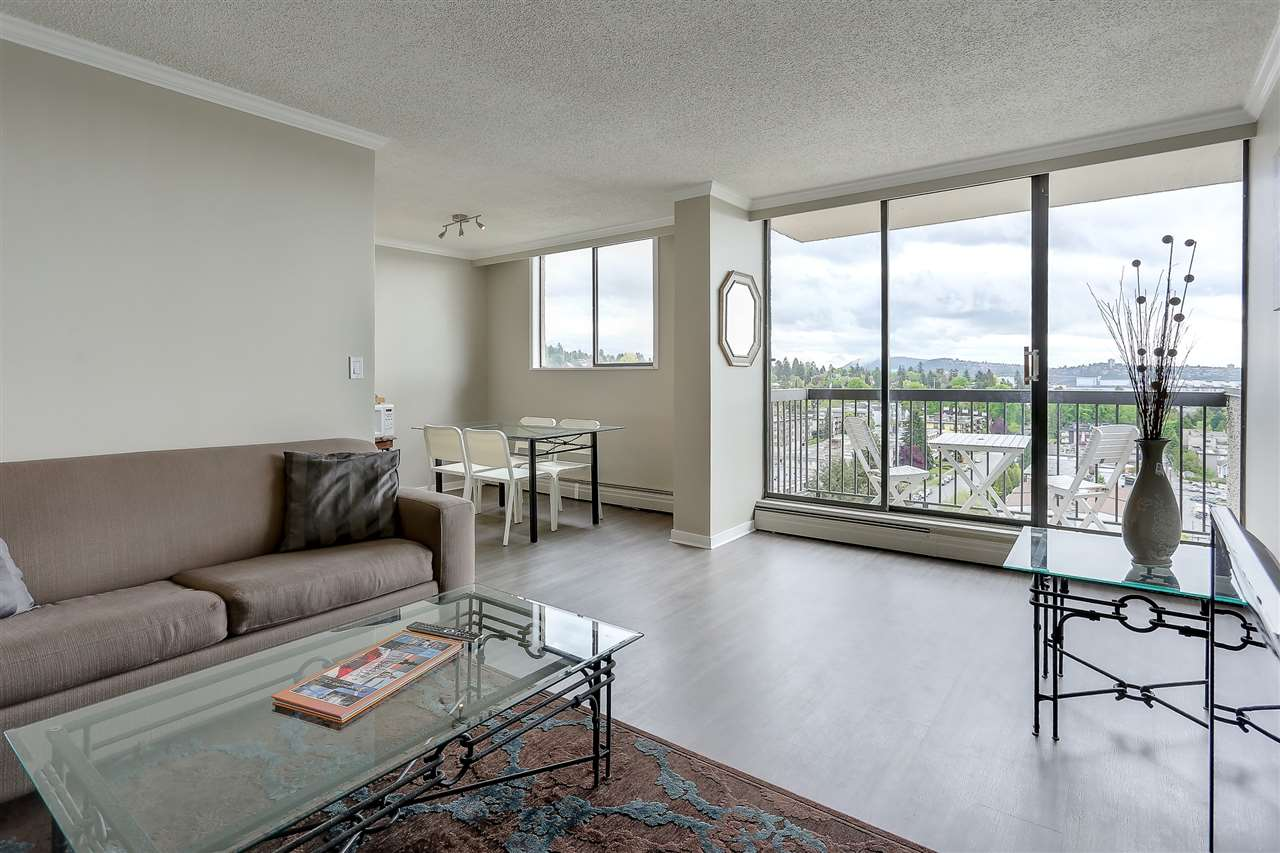 "Photo 4: 1507 145 ST. GEORGES Avenue in North Vancouver: Lower Lonsdale Condo for sale in ""TALISMAN TOWERS"" : MLS® # R2203430"