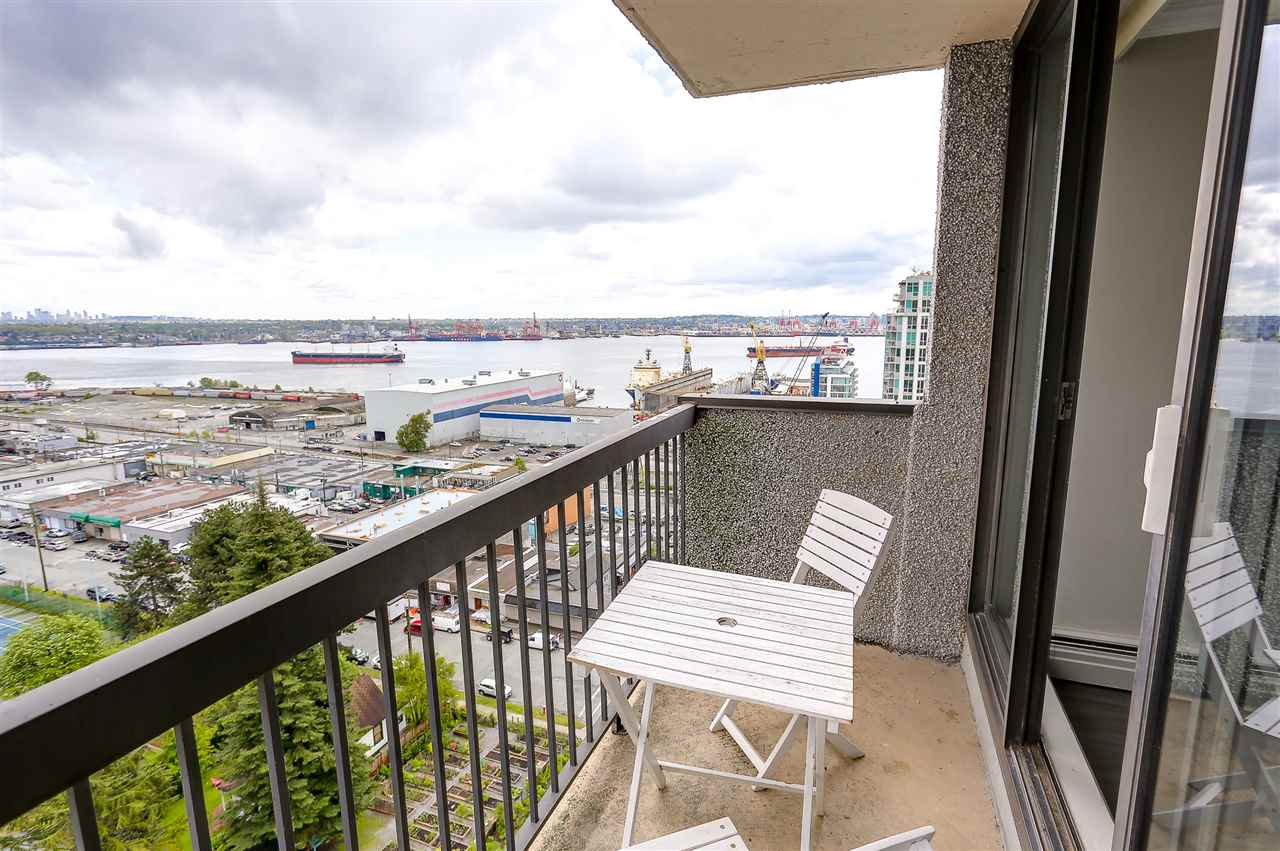 "Photo 7: 1507 145 ST. GEORGES Avenue in North Vancouver: Lower Lonsdale Condo for sale in ""TALISMAN TOWERS"" : MLS® # R2203430"