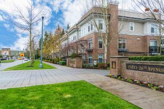 "Main Photo: 49 15833 26 Avenue in Surrey: Grandview Surrey Townhouse for sale in ""The Brownstones"" (South Surrey White Rock)  : MLS® # R2225259"