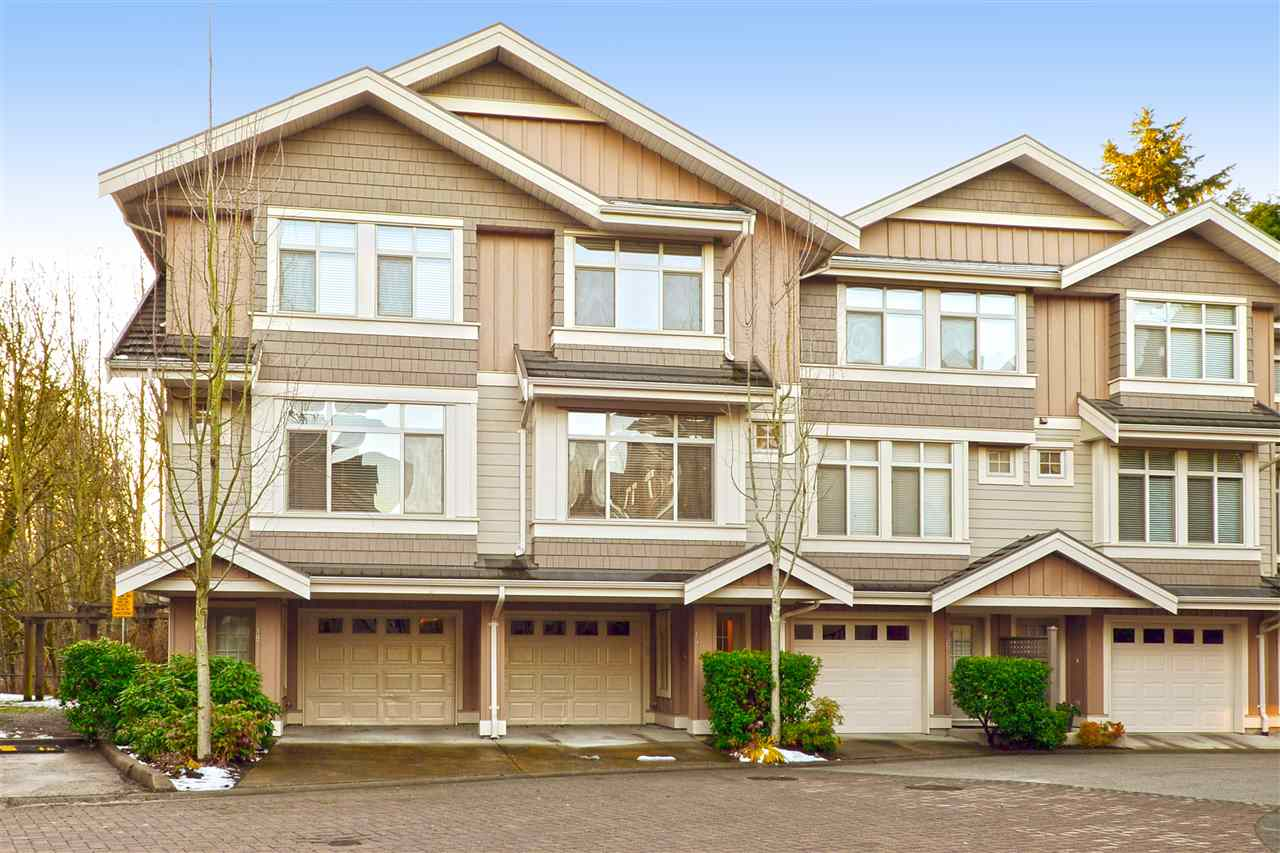 "Main Photo: 19 15151 34 Avenue in Surrey: Morgan Creek Townhouse for sale in ""SERENO"" (South Surrey White Rock)  : MLS® # R2238902"