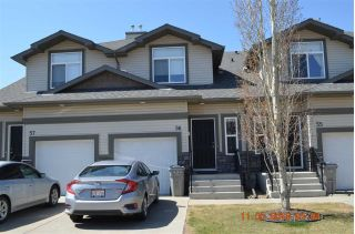 Main Photo: 56 9511 102 Avenue NW: Morinville Townhouse for sale : MLS®# E4125354