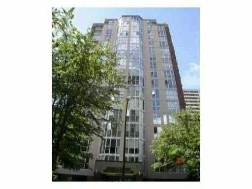 Photo 1: 1501 1010 Burnaby Street in Vancouver: West End VW Condo for sale (Vancouver West)  : MLS® # v843075