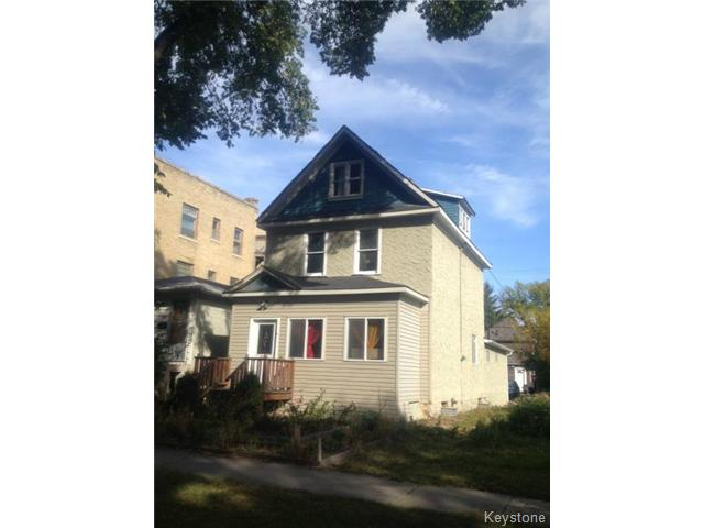 Main Photo: 371 Home Street in WINNIPEG: West End / Wolseley Residential for sale (West Winnipeg)  : MLS® # 1321837