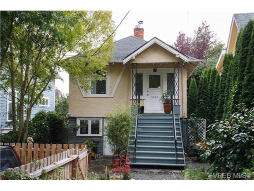 Main Photo: 1455 Hamley Street in VICTORIA: Vi Fairfield West Single Family Detached for sale (Victoria)  : MLS® # 339332