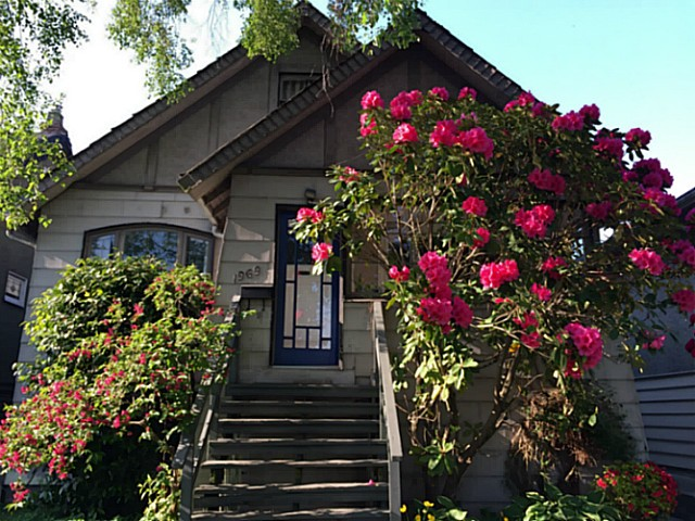 Main Photo: 1969 E 8TH Avenue in Vancouver: Grandview VE House for sale (Vancouver East)  : MLS® # V1130706
