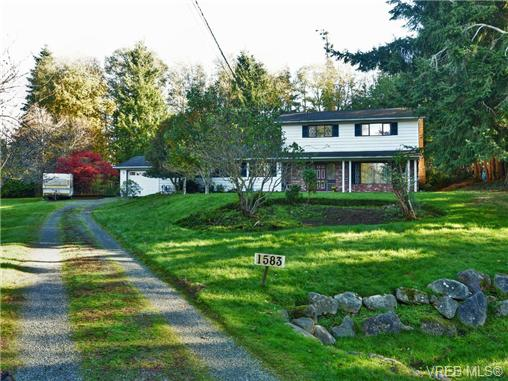 Main Photo: 1583 ONeill Road in SOOKE: Sk Whiffin Spit Single Family Detached for sale (Sooke)  : MLS® # 357774