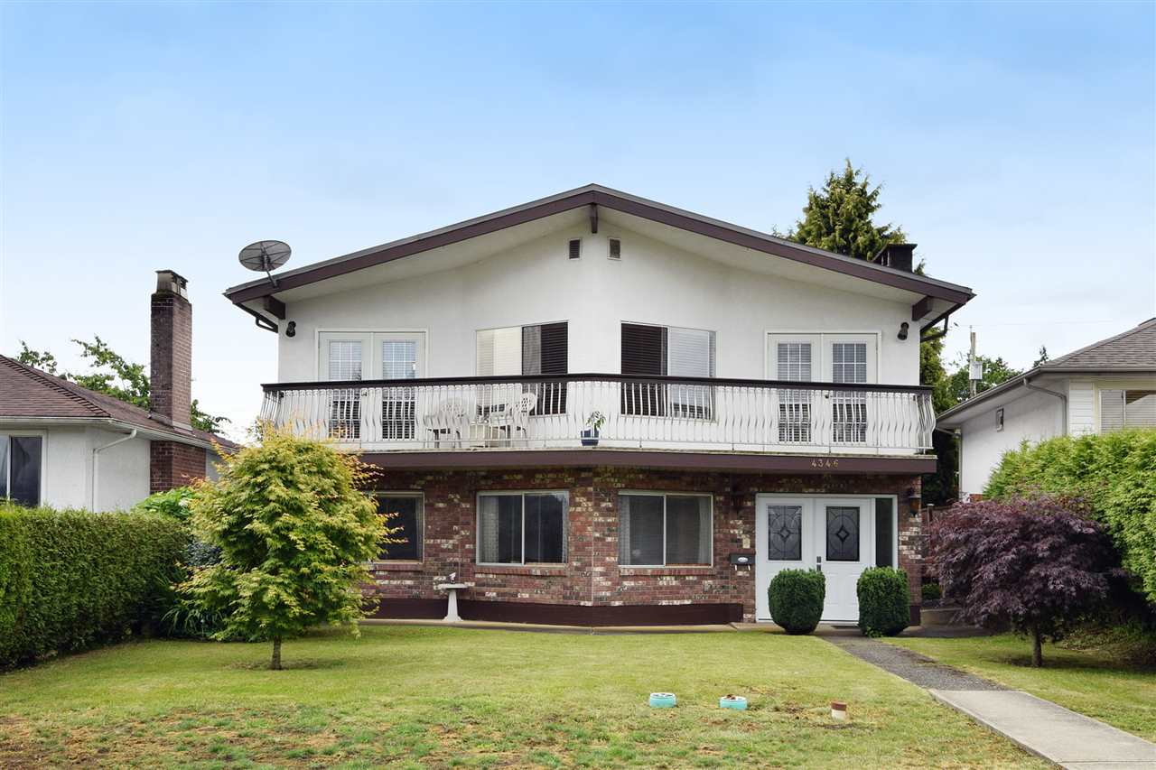 Main Photo: 4346 DUNDAS Street in Burnaby: Vancouver Heights House for sale (Burnaby North)  : MLS®# R2077607