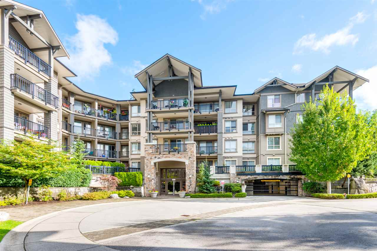 "Main Photo: 310 2969 WHISPER Way in Coquitlam: Westwood Plateau Condo for sale in ""Summerlin"" : MLS® # R2107945"