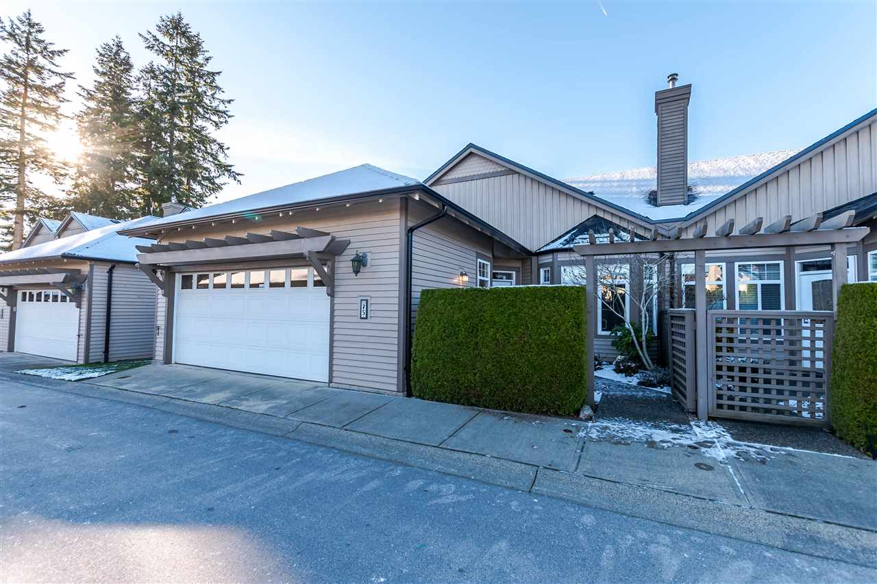 "Main Photo: 75 14909 32 Avenue in Surrey: King George Corridor Townhouse for sale in ""Ponderosa"" (South Surrey White Rock)  : MLS® # R2127199"