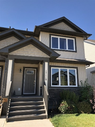 Main Photo: 17118 120 Street in Edmonton: Zone 27 House Half Duplex for sale : MLS® # E4060144