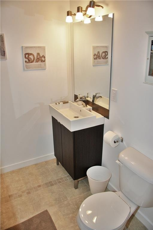 Ensuite bathroom in basement