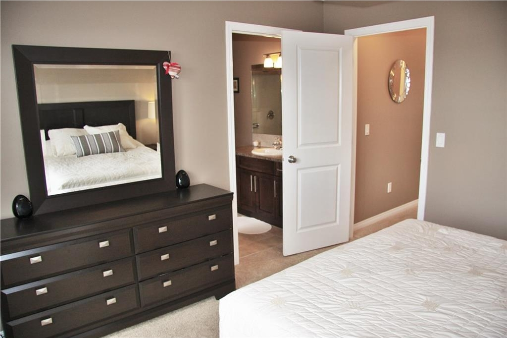 Gorgeous ensuite and large walk in closet in the master bedroom