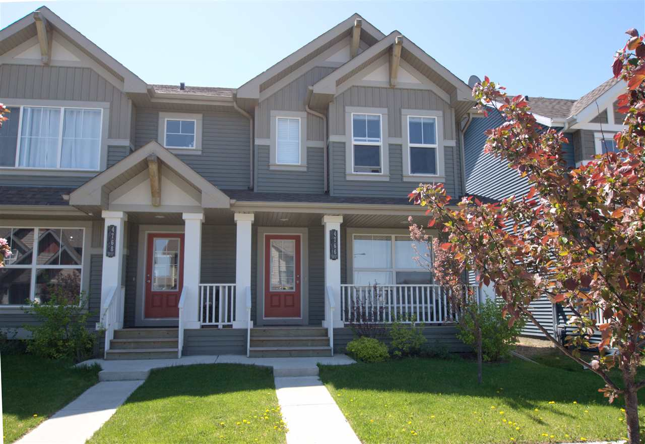 Main Photo: 4766 CRABAPPLE Run in Edmonton: Zone 53 House Half Duplex for sale : MLS(r) # E4067110