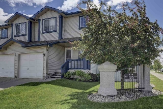 Main Photo: 1 324 Heatherglen Drive: Spruce Grove House Half Duplex for sale : MLS® # E4070432
