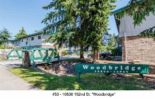 "Main Photo: 53 10836 152 Street in Surrey: Bolivar Heights Townhouse for sale in ""WOODBRIDGE"" (North Surrey)  : MLS(r) # R2181688"