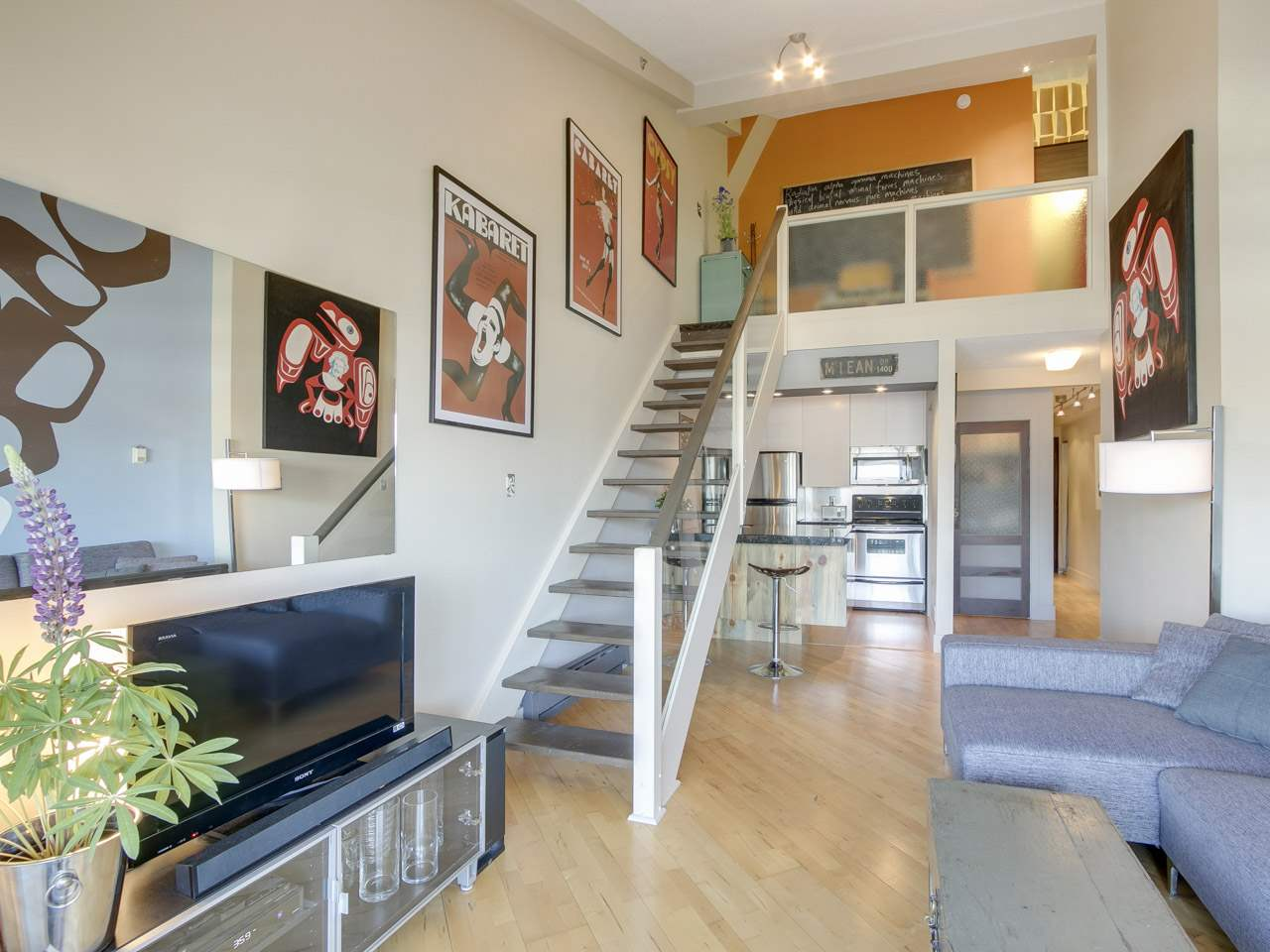 Vancouver Loft dreamiving.ca 408 1549 Kitchener Street