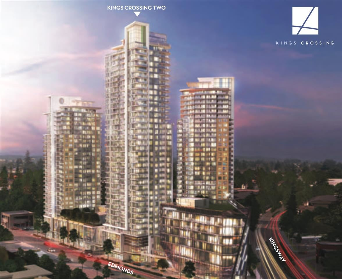 "Main Photo: 703 7388 KINGSWAY in Burnaby: Edmonds BE Condo for sale in ""King Corssing 1"" (Burnaby East)  : MLS® # R2198386"