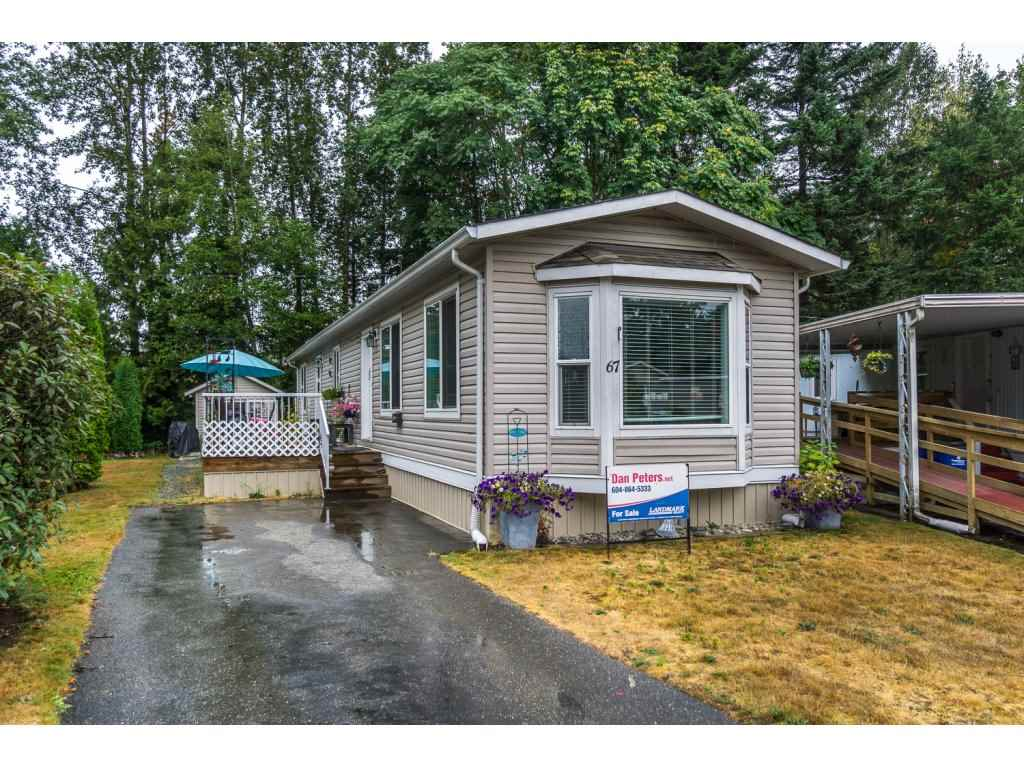 Main Photo: 67 31313 N LIVINGSTONE Avenue in Abbotsford: Abbotsford West Manufactured Home for sale : MLS® # R2199999